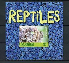 St Vincent & The Grenadines 2015 MNH Reptiles 1v S/S Lizards Gecko Geckos