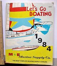 lets go boating marine supply co catalog 1984