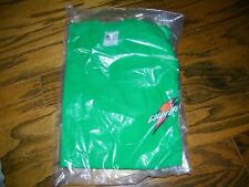 Boys Youth Size L LArge Gatorade T Shirt Green With Orange Lightning Bolt NEW