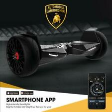 "LAMBORGHINI 8.5"" Hooverboard Bluetooth app enabled motorized electric scooter"