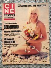 Ciné Revue n 29 1975 Julie CANALI Helmut BERGER C GABLE BELMONDO Miriam HOPKINS
