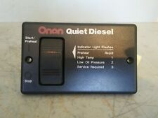 Onan Quiet Diesel Generator Remote Start and Stop Switch Panel, 300-495303H