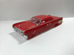 Motorific Red Continental Car Body NOS