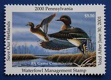U.S. (PA18) 2000 Pennsylvania State Duck Stamp (MNH)