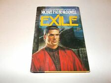 Exile by Michael P. Kube-McDowell HC used SFBC edition