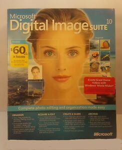 Microsoft Digital Image Suite 10.0 Windows XP, ME, 98, 2000 Complete