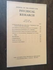 Journal Society for Psychical Research. Vol 48, 768, June 1976