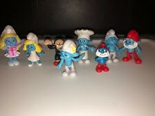 Smurfs Toy figures- Lot Of 8