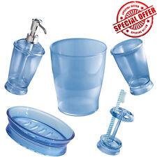 Bathroom Accessory Soap Dispenser Pump/Dish Toothbrush Holder Tumbler Trash Can