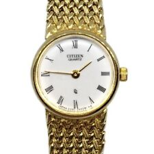 Citizen Vintage Ladies Womens Elegant Gold Watch Dress Small Formal Art Deco