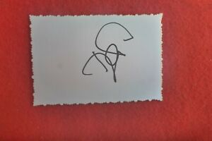 DANIEL NESTOR  HAND SIGNED  CARD TENNIS DOUBLES OLYMPIC GOLD MEDALLIST
