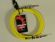 Dimarzio YELLOW 3m 10 Foot Guitar Bass Quality Instrument Cable Lead USA Made