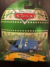 New Disney Pixar Cars Holiday Snow Day Sally Die Cast Vehicle 1:55 Earmuffs