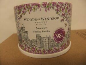 Nice gift pot of Lavender dusting powder.98% Natural  ingredients.