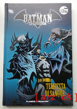 BATMAN LA LEGGENDA Serie Platino 42 TEMPESTA DI SANGUE Planeta DeAgostini