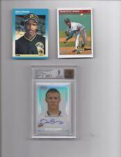 Lot Of MLB Rookie Cards. Barry Bonds, Francisco Liriano & Dylan Bundy Auto