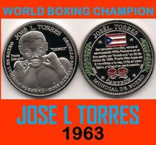 CHEGUI TORRES Campeon Boxeo PUERTO RICO Boxing Champion PONCE 2009 Medal 1/100
