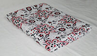 3 Yard Floral Hand Block Print Fabric Indian Handmade 100% Cotton Voile Fabric