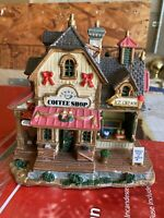 LEMAX Village Collection Jenny's Coffee Shop & Ice Cream Parlor 45138 EUC
