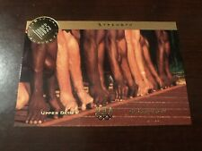 1996 Upper Deck U.S. Olympic Magical Images #MI5 - Sprinters (Track Start)