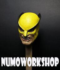 "Wolverine 1st App 1/6 Scale CUSTOM UNPAINTED HEAD for 12"" Body Figure by Numo"
