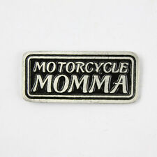 Biker Chopper Moto Motocicletta Momma mamma madre pin spilla spilla