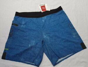 BNWT Mens Very Lighweight Denim Look Blue Reebok Shorts Size Large - 37""