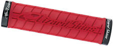 Lizard Skins Logo Lock-On MTB Mountain Bike Grips - Red