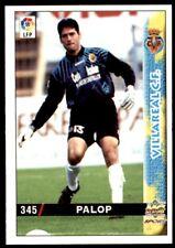 Mundicromo Las fichas de la Liga 98 99 Palop Villareal No. 345