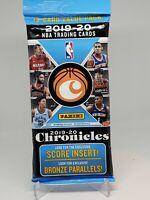 2019-20 Panini Chronicles Basketball NBA trading cards cello pack