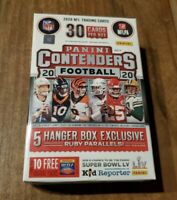 Factory Sealed 2020 Panini NFL Contenders Football Hanger Box