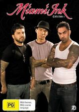 Miami Ink : Collection 4 (DVD, 2008, 3-Disc Set)