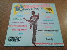 33 tours 16 disco hits non stop volume 10 international chante