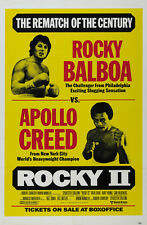 Rocky II Sylvester Stallone cult movie poster print #31