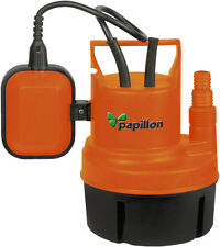 POMPA SOMMERGIBILE A IMMERSIONE PAPILLON PER ACQUE CHIARE 200W