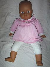"Lissi Dolls Plush Body Soft Plastic Feet Hands Head Baby Doll 20"""