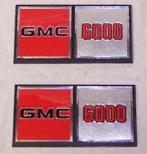 Set of 2!!! GMC 6000 C Truck Emblems NEW OEM Genuine GM emblems