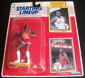 1990 Michael Jordan Chicago Bulls Starting Lineup SLU NBA Basketball