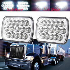 2pc Led headlights for international 9900 9900I IX 9200 9400 series MACK Truck