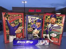 2017 Sealed Chicago Cubs Bundle Ross Zobrist Rizzo GO CUBS GO Cereal Rizzo Wrap