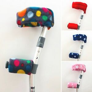 Crutch Handle Covers Pads Sleeves Cuffs Arms CHILDREN'S KIDS CHILD  FREE 1st P&P