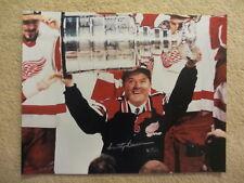 SCOTTY BOWMAN  Detroit Redwings  Autographed 11X14 photo