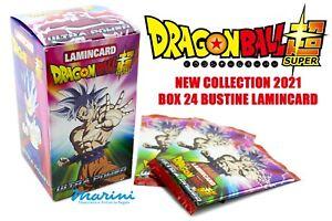 DIRAMIX DRAGON BALL SUPER ULTRA POWER DISPLAY BOX DA 24 BUSTINE LAMINCARD 2021