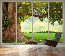 Large Wall Mural Old Tree Nature Self-Adhesive 3D Vinyl Wallpaper Modern Decor