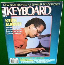 1986 Keyboard Magazine w-Flexi-Disc, Akai S900 Kawai K3 Ensoniq SDP ESQ-1 Report