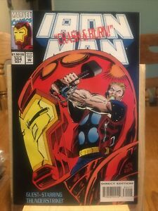 Iron Man: , Vol. 1 #304 1994  1st Appearance of Hulkbuster Armor;  Box CT