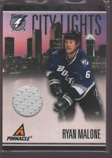 RYAN MALONE 2010-11 PINNACLE CITY LIGHTS JERSEY PATCH LIGHTNING /499 $12