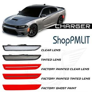 ORACLE LED SideMarkers for 15-18 Dodge Charger - Clear & Tinted - #9880