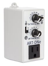 C.A.P. ART-DNE Hydroponic Day/Night Adjustable Interval Recycle Timer Controller