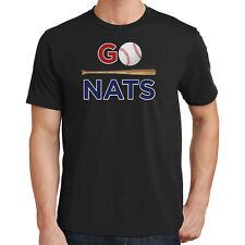 Go Nats T-Shirt Washington Baseball 2472